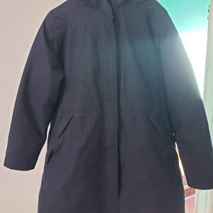 The North face womens coat-Navy